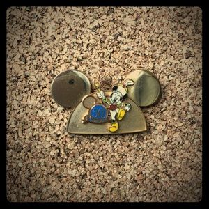 50th Anniversary Disney Gold Mickey Ears Pin